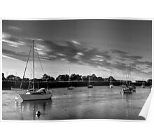 The River crouch Essex Poster