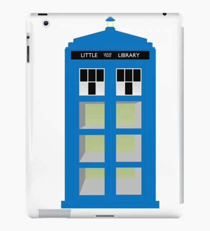 Doctor Who TARDIS little library iPad Case/Skin
