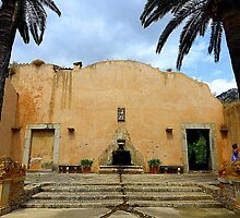 A Feature Of The Alfabia Estate In Majorca  by Fara
