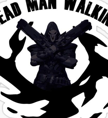 The walking Reaper Sticker