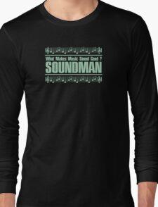 Good Soundman Green Long Sleeve T-Shirt