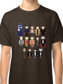 Pixel Doctor Who Regenerations Classic T-Shirt