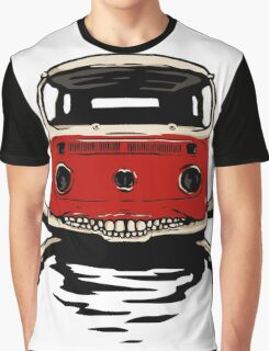Deadly Bus Graphic T-Shirt