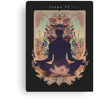 LOTUS IV in color Canvas Print