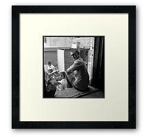 Chris Burke Framed Print