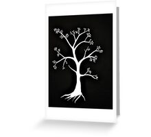 Tree Fossil Greeting Card