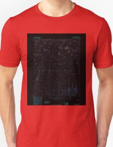 USGS TOPO Map Alaska AK Shungnak B-5 359045 1985 63360 Inverted Unisex T-Shirt