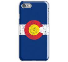 Vintage Colorado Flag iPhone Case/Skin
