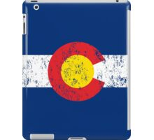 Vintage Colorado Flag iPad Case/Skin