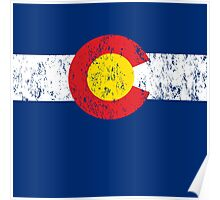Vintage Colorado Flag Poster
