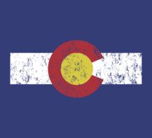 Vintage Colorado Flag by medallion