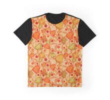 Physalis pattern Graphic T-Shirt
