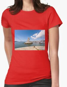 On The Waterfront, Lisbon Womens Fitted T-Shirt