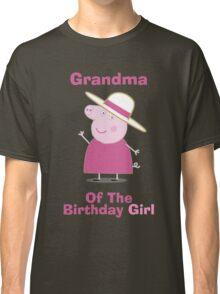 Grandma (HBD) girl Classic T-Shirt