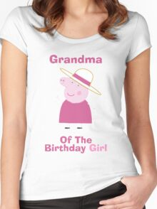 Grandma (HBD) Women's Fitted Scoop T-Shirt