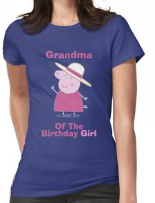 Grandma (HBD) girl Womens Fitted T-Shirt