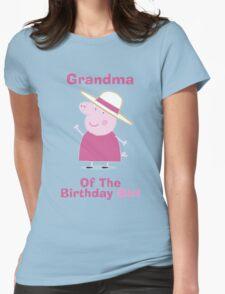 Grandma (HBD) girl Womens Fitted T-Shirt