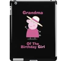 Grandma (HBD) girl iPad Case/Skin