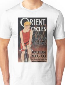 Vintage Orient Bicycle Advertising 1895 - Edward Penfield Unisex T-Shirt