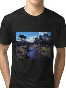 Along The Banks Of The Tomebamba Tri-blend T-Shirt