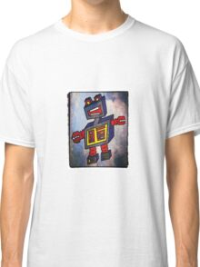 TomoBot Robot In Space Classic T-Shirt