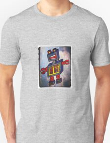TomoBot Robot In Space Unisex T-Shirt