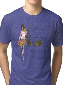 Paris is Always a Good Idea Tri-blend T-Shirt