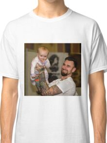 A Fine Baby & Proud Father on Show Classic T-Shirt