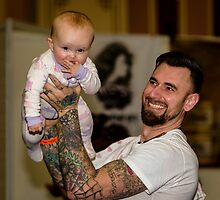 A Fine Baby & Proud Father on Show by MarcW