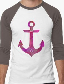 Christian Anchor Men's Baseball ¾ T-Shirt