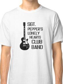 Sgt Pepper Lonely Hearts Club Band Beatles Lyrics Classic T-Shirt