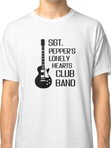 Sgt Pepper Lonely Hearts Club Band Beatles Lyrics Classic T-Shirt