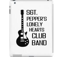 Sgt Pepper Lonely Hearts Club Band Beatles Lyrics iPad Case/Skin