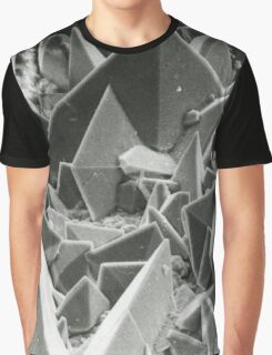 Kidney stone electron micrograph Graphic T-Shirt