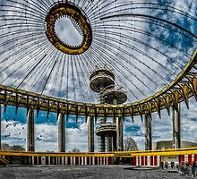 The 1964 New York State Pavilion by Chris Lord
