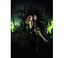 Hades and Persephone Photographic Print