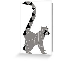 Lemur-ish Raccoon-ish Greeting Card