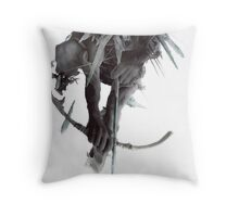 The Hunting Party Throw Pillow