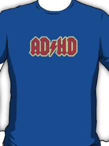 Vintage ADHD Rock & Roll Style T-Shirt