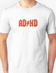 Vintage ADHD Rock & Roll Style Unisex T-Shirt