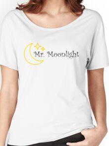 Mr Moonlight The Beatles Song Lyrics 60s Rock Music Lennon Women's Relaxed Fit T-Shirt
