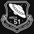 Area 51 UFO Flight Test Center by Samuel Sheats