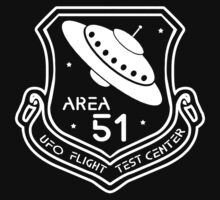 Area 51 UFO Flight Test Center by Samuel Sheats