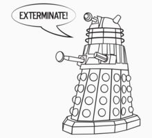 You'll be Exterminated! Kids Clothes