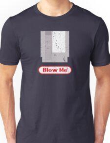 Blow Me - Vintage Nintendo Cartridge Unisex T-Shirt
