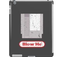 Blow Me - Vintage Nintendo Cartridge iPad Case/Skin