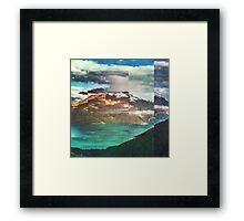 Fractions A32 Framed Print