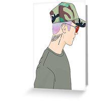 Justin Bieber Drawing  Greeting Card