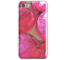 RainbowConfetti Red Onions iPhone Case/Skin