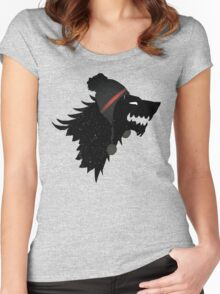 Symbol-House Stark cold edition! Women's Fitted Scoop T-Shirt